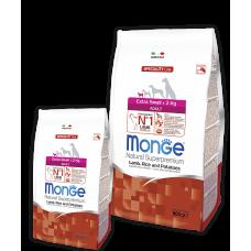 Monge Extra Small Adult Lamb для взрослых собак миниатюрных пород с ягненком 2.5кг