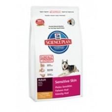 Hills Adult Sensitive Skin with Chicken для собак с чувствительной кожей (12кг)