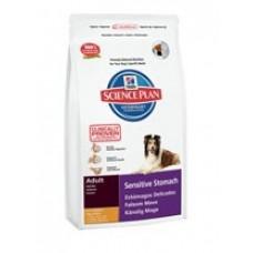 Hills Adult Sensitive Stomach Chicken with Egg & Rice для собак с чувствительным пищеварением (12кг)
