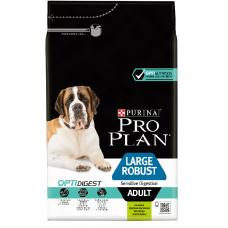 Pro Plan Large Robust Adult Sensitive Digestion для взрослых собак крупных пород с мощным телосложением с ягненком