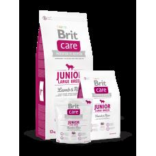 Brit Care Junior Large Breed Lamb & Rice для щенков крупных пород с ягненком (1кг, 3кг, 12кг)