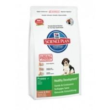 Hills Puppy Medium Lamb & Rice для щенков средних пород с ягненком (1кг, 3кг, 12кг)