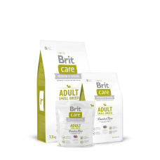 Brit Care Adult Small Breed Lamb & Rice для взрослых собак мелких пород с ягнеком (3кг, 7.5кг)