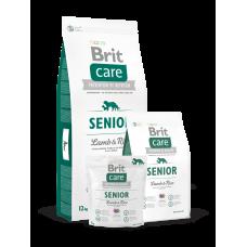 Brit Care Senior Lamb & Rice для пожилых собак всех пород с ягненком (1кг, 3кг, 12кг)