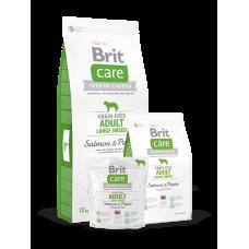 Brit Care Grain-free Adult Large Breed Salmon & Potato беззерновой для взрослых собак крупных пород с лососем (3кг, 12кг)
