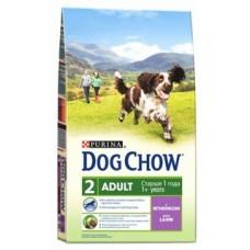Dog Chow Adult Lamb для взрослых собак с ягненком 14кг