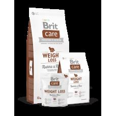 Brit Care Weight Loss Rabbit & Rice облегченный для взрослых собак всех пород с кроликом (1кг, 3кг ,12кг)