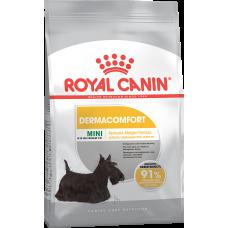 Royal Canin MINI DERMACOMFORT для собак с раздраженной и зудящей кожей 3кг