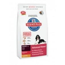 Hills Adult Advanced Fitness Medium для собак средних пород с курицей (2.5кг,12кг)