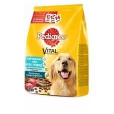 Pedigree для взрослых собак всех пород с говядиной (13кг)