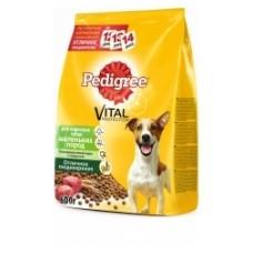 Pedigree для взрослых собак маленьких пород говядиной (13кг)