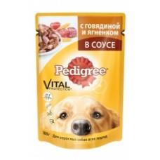 Pedigree Для взрослых собак всех пород с говядиной и ягненком (100г)