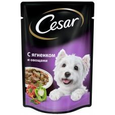 Cezar Для взрослых собак всех пород С Ягненком и овощами (100г)