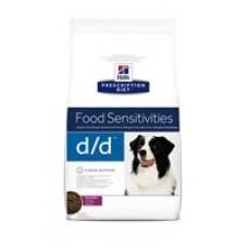Hills Prescription Diet d/d Duck & Rice (2кг, 5кг, 12кг)