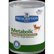 Hills Prescription Diet METABOLIC для собак контроль веса  (370г)