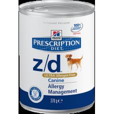 Hills Prescription Diet Z/D ULTRA ALLERGEN-FREE для собак при пищевой аллергии (370г)