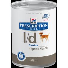 Hills Prescription Diet L/D для собак при заболевании печени (370г)