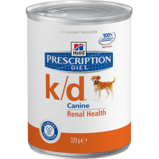 Hills Prescription Diet K/D для собак при заболевании почек (370г)