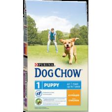 Dog Chow Puppy Chicken для щенков с курицей