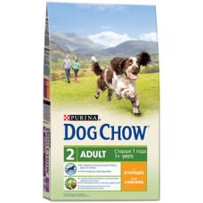 Dog Chow Adult Chicken для взрослых собак с курицей