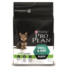 Pro Plan Small & Mini Puppy для щенков мелких и карликовых пород с курицей 700г