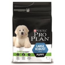 Pro Plan Large Robust Puppy для щенков крупных пород с мощным телосложением с курицей 3кг
