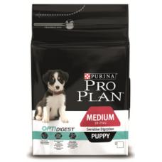 Pro Plan Medium Puppy Sensitive Digestion для щенков средних пород с чувствительным пищеварением с ягненком 12кг