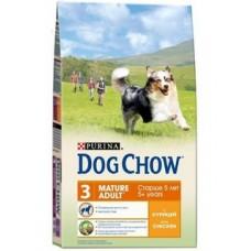 Dog Chow Mature Adult Chicken для собак старше 5 лет с курицей