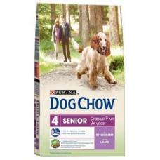 Dog Chow Senior Lamb для собак старше 9 лет с ягненком