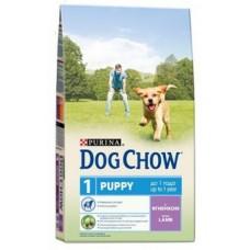 Dog Chow Puppy Lamb для щенков с ягненком и рисом