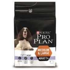 Pro Plan Adult 7+ для взрослых собак старше 7 лет средних и крупных пород с курицей
