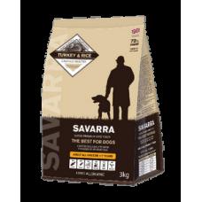 SAVARRA ADULT ALL BREEDS DOGS TURKEY  для взрослых собак всех пород с индейкой 12кг