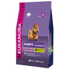Eukanuba Dog Puppy small breed для щенков мелких пород 800г