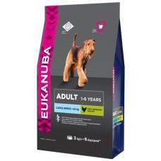 Eukanuba Dog Adult large breed для собак крупных пород 3кг