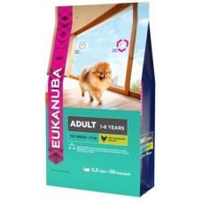 Eukanuba Dog Adult Toy breed для взрослых собак миниатюрных пород 3.5кг