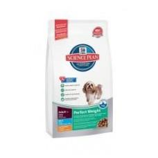 Hills Adult Perfect Weight Mini with Chicken для собак мелких пород контроль веса (700гр)