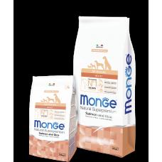 Monge All Breeds Adult Salmon для собак всех пород с лососем 2.5кг