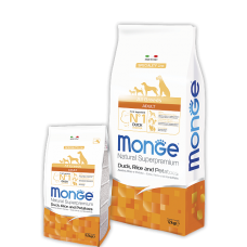 Monge All Breeds Adult Duck для собак всех пород с уткой 2.5кг