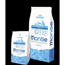 Monge All Breeds Adult Light для собак всех пород низкокалорийный 2.5кг