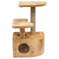 Дарэлл дом-когтеточка угловой со ступенькой