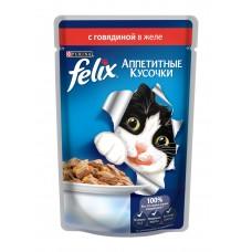 Felix аппетитные кусочки в желе