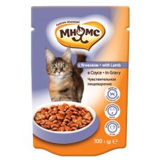 Мнямс With Lamb для кошек с ягненком в соусе (100г)