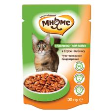Мнямс With Rabbit для кошек с кроликом в соусе (100г)