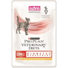 Pro Plan DM Diabetes Management при сахарном диабете курица/говядина 85г