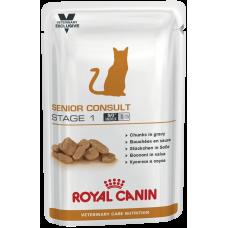 Royal Canin SENIOR CONSULT STAGE 1 для котов и кошек старше 7 лет 100г