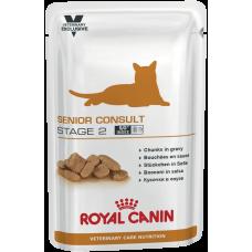 Royal Canin SENIOR CONSULT STAGE 2 для котов и кошек старше 7 лет, имеющих видимые признаки старения 100г
