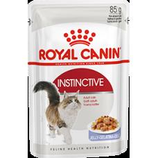 Royal Canin INSTINCTIVE для взрослых кошек желе/соус/паштет