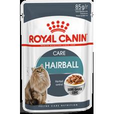 Royal Canin HAIRBALL CARE для кошек профилактика образования комков шерсти соус