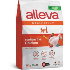 Alleva cat Equilibrium корм для стерилизованных кошек с курицей
