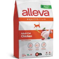 Alleva cat Equilibrium корм для взрослых кошек с курицей
